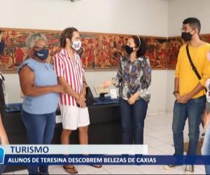 TV O Dia - Alunos de Teresina descobrem belezas de Caxias 03 08 2021