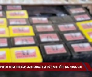 TV O Dia - Casal é preso com drogas avaliadas em R$ 6 Milhões na zona sul de Teresina 04 08 2021