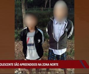 TV O Dia - Dois adolescentes são apreendidos na zona norte de Teresina 03 08 2021