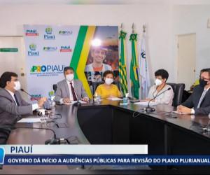 TV O Dia - Governo dá início audiências públicas para revisão do plano plurianual 04 08 2021