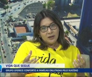 TV O Dia - Grupo oferece conforto a famílias enlutadas pelo suicídio 04 08 2021