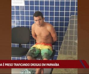 TV O Dia - Homicida é preso traficando drogas na cidade de Parnaíba 04 08 2021