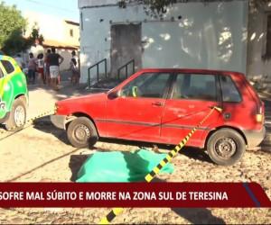 TV O Dia - Idoso sofre mal súbito e morre na zona sul de Teresina 04 08 2021