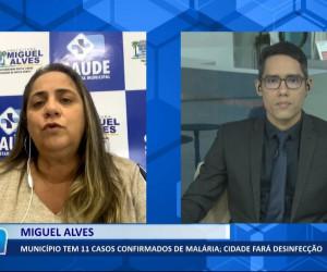 TV O Dia - Miguel Alves tem 11 casos de malária confirmados 03 08 2021