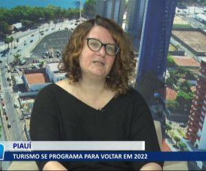TV O Dia - Setor de turismo no Piauí se programa para reabertura de atividades no ano que vem 04 08 2021