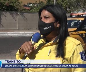 TV O Dia - STRANS orienta para evitar congestionamentos na volta às aulas 03 08 2021