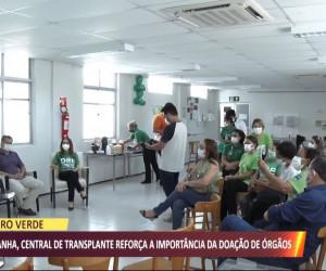 TV O Dia - Central de Transplante faz campanha sobre importância da doação de órgãos 28 09 2021