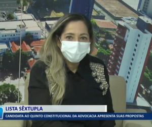 TV O Dia - Cláudia Paranaguá apresenta suas propostas para vaga de Desembargador do TJ PI 23 09 2021