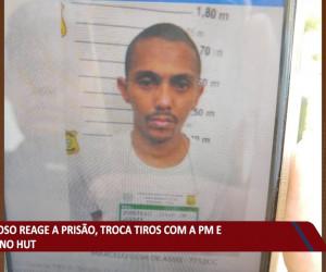 TV O Dia - Criminoso reage a prisão, troca tiros com a PM e morre no HUT 23 09 2021