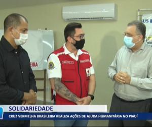 TV O Dia - Cruz Vermelha brasileira realiza ações de ajuda humanitária no Piauí 27 09 2021
