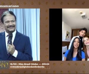TV O Dia - Entrevista com a delegação piauiense do concurso Miss Brasil Globo 18 09 2021