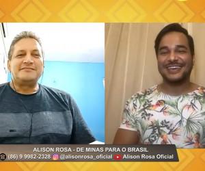 TV O Dia - Entrevista com Alison Rosa no 100% Forró