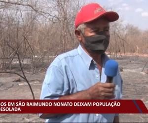 TV O Dia - Incêndios em São Raimundo Nonato deixam população em desolação 28 09 2021