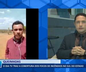 TV O Dia - O Dia Tv traz a cobertura dos focos de incêndios no sul do Estado 23 09 2021