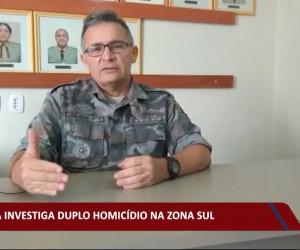 TV O Dia - Polícia investiga duplo homicídio na zona sul 28 09 2021