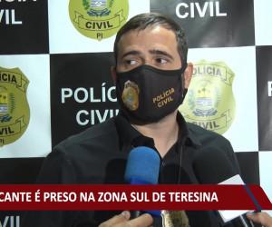 TV O Dia - Traficante é preso na zona sul de Teresina 23 09 2021
