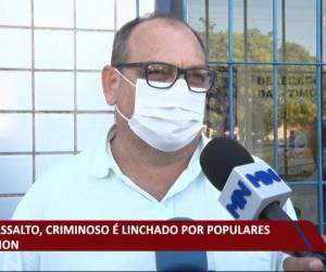 TV O Dia - Após assalto, criminoso é linchado por populares em Timon 20 10 2021