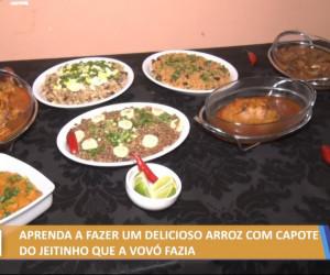 TV O Dia - Aprenda a fazer um delicioso e tradicional prato de arroz com capote 27 10 2021
