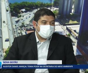 TV O Dia - Auditor Daniel Marçal toma posse na Secretaria do Meio Ambiente 21 10 2021