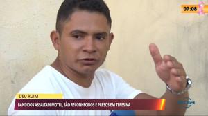 Bandidos assaltam motel, são reconhecidos e presos em Teresina 11 10 2021