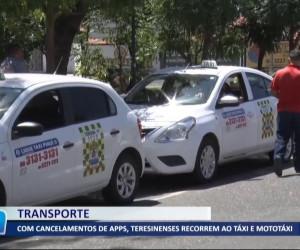 TV O Dia - Com cancelamento de apps, teresinenses recorrem ao táxi e mototáxi 21 10 2021