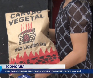 TV O Dia - Com gás de cozinha mais caro, procura por carvão cresce no Piauí 15 10 2021