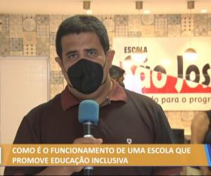 TV O Dia - Como é o funcionamento de uma escola que promove educação inclusiva 26 10 2021