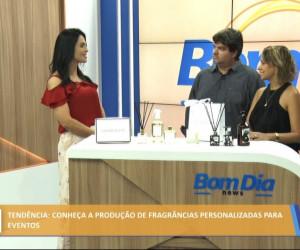 TV O Dia - Conheça a produção de fragrâncias personalizadas para eventos 28 10 2021