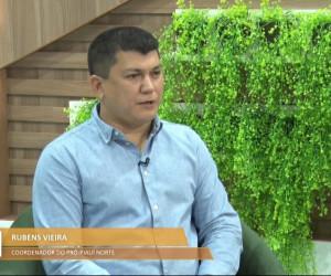 TV O Dia - Ex-prefeito de Cocal, Coordenador do Pró Piauí Norte, Rubens Vieira, no Bom Dia 20 10 2021
