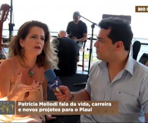 TV O Dia - Ítalo Motta entrevista Patrícia Mellodi no Rio de Janeiro sobre carreira e novos projetos 23 10