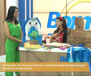 TV O Dia - Professora usa técnicas criativas e divertidas para alfabetizar crianças 15 10 2021