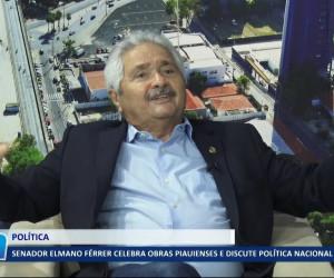 TV O Dia - Senador Elmano Férrer celebra obras piauienses e discute política nacional 25 10 2021