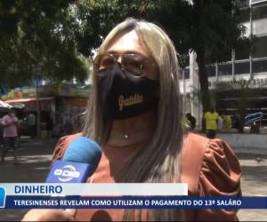 TV O Dia - Teresinenses revelam como utilizam o pagamento do 13º salário 21 10 2021