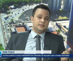 TV O Dia - Victor Guerra é o novo presidente da Comissão de Relação com o Poder Judiciário 15 10 2021